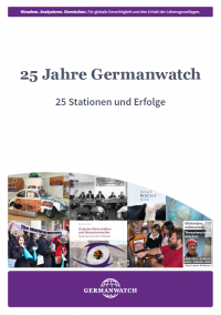 25 Jahre Germanwatch