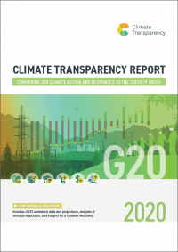 Cover Climate Transparency Report 2020