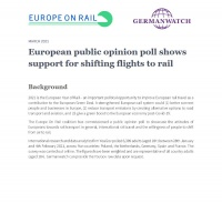 European Public Opinion Poll Flights To Rail