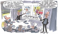 Weitblick-Bild 1/14: Karikatur IT-Marketing