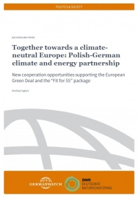 Cover: Together towards a climate-neutral Europe: Polish-German climate and energy partnership.