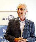 Hans Herren auf der MV 2013