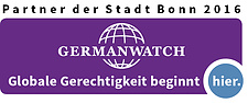 Logo Germanwatch Jahrespartnerschaft 2016