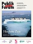 """Cover Publik-Forum Dossier """"Enzyklika"""""""