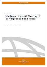 Briefing on the 30th Meeting of the Adaptation Fund Board_Cover