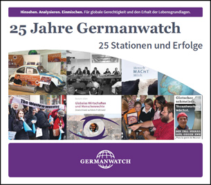 Flyer 25 Jahre Germanwatch