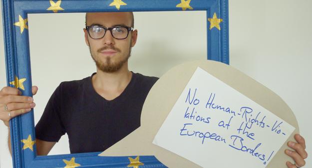 Benedikt, Teilnehmer Fotoaktion in Berlin