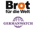 Logos Brot für die Welt und Germanwatch