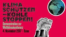 Demonstration zu Weltklimakonferenz