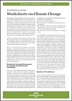 worksheets on climate change germanwatch e v. Black Bedroom Furniture Sets. Home Design Ideas