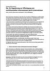 Cover-Die EU Regulierung zur Offenlegung von nichtfinanziellen Informationen durch Unternehmen