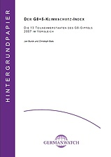Deckblatt: G8+5-Klimaschutz-Index 2007