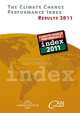 Deckblatt: The Climate Change Performance Index 2011