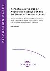 Cover: Discussion Paper EU Emissions Trading Scheme
