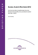 Deckblatt: Global Climate Risk Index 2012