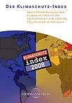 Deckblatt: Klimaschutz-Index 2008