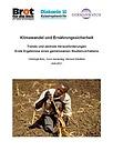 Deckblatt: Klimawandel und Ernährungssicherheit