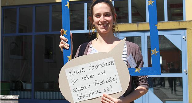 Charlotte, Teilnehmerin der Germanwatch-Strategietage