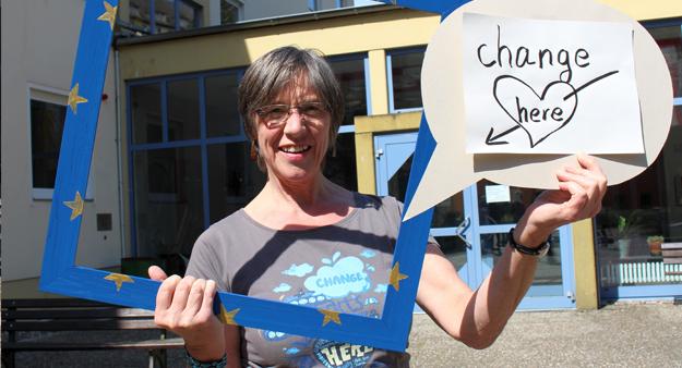 Sibylle, Teilnehmerin der Germanwatch-Strategietage