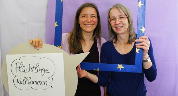 Susanne Müller und Ilsedore Kraus, Engagement Global