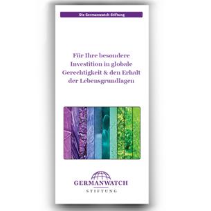 Zum Flyer der Germanwatch-Stiftung