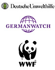 Logos Germanwatch, WWF, Deutsche Umwelthilfe