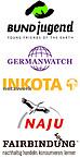 Logos GW Inkota BUNDjugend Fairbindung NAJU