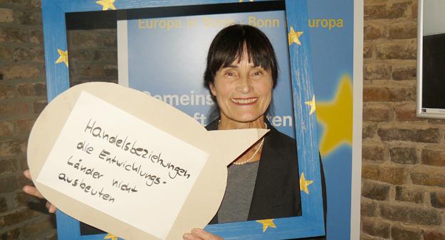 Gabriele Klingmüller, EJE-Abschlussveranstaltung