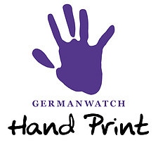Logo Germanwatch Hand Print