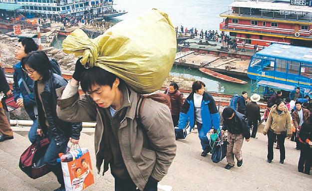 Abwanderung in Küstenstädte