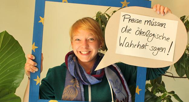 Inga, Teilnehmerin der Germanwatch-Strategietage