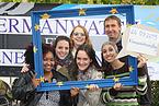 Foto von der Germanwatch-Aktion zum Klimaaktionstag 2015 in Bonn