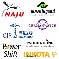 Logos Organisationen zum Erdüberlastungstag 2015, Berlin