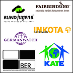 Logos-Germanwatch,-INKOTA-netzwerk,-BUNDjugend,-Fairbindung,-BER,-KATE