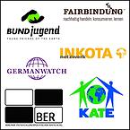 Logos-Germanwatch,-INKOTA-netzwerk,-BUNDjugend,-Fairbindung,-BER,-KATE