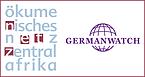 logos Germanwatch und Ökumenisches Netz Zentralafrika