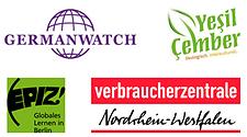 Logos-Germanwatch-Yesil-Cember,-EPIZ-Berlin,-VBZ-NRW