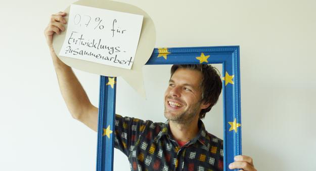 Michael, Teilnehmer an Fotoaktion in Berlin
