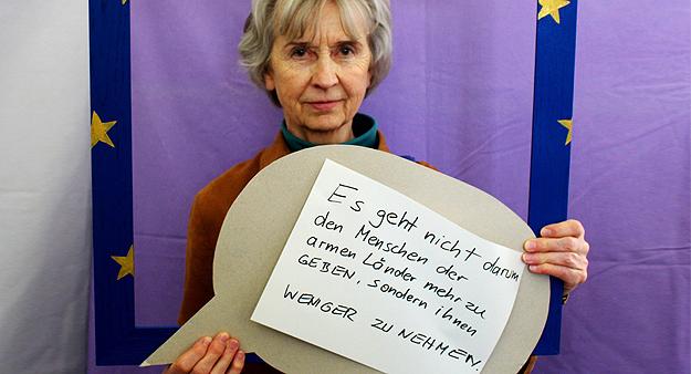 Monika, Teilnehmerin Europatag