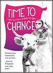 """Postkarte """"Time to Change"""""""