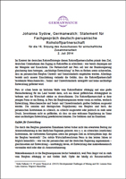 Cover_Statement für Fachgespräch deutsch-peruanische Rohstoffpartnerschaft