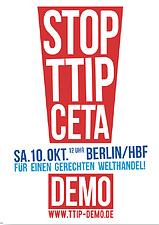 Weitblick-Bild 2/15: TTIP-Demo