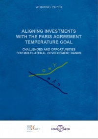 Cover Working Paper Aligning Investments with the Paris Agreement