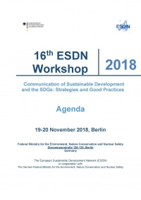 16th ESDN Workshop Agenda