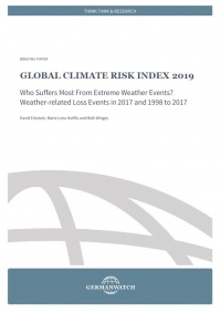Cover Climate Risk Index 2019