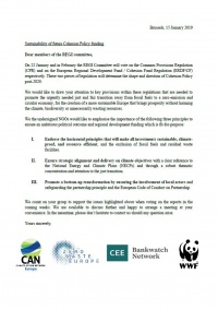Screenshot Open Letter REGI Committee
