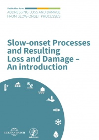 Papier: Slow-onset Processes and Resulting Loss and Damage – An introduction
