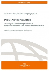 """Paris-Partnerschaften"" Cover der Publikation"