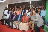 Group picture after the CSO strategy Workshop with the Tanzanian Youth Coalition