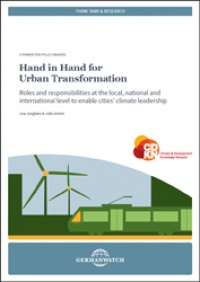 Cover: Hand in Hand for an Urban Transformation